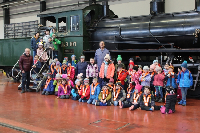 RhB Dampflokomotive